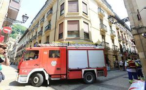 Los bomberos de San Sebastián viven su año de mayor actividad al dispararse los rescates un 50%