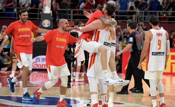 La celebración de España, en imágenes