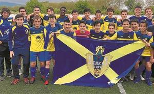 El Danena juega mañana su primer partido de la Liga Vasca cadete frente al Santutxu