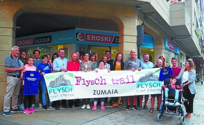 Zumaia Flysch Trail hace entrega de los premios del sorteo de las rifas de esta edición