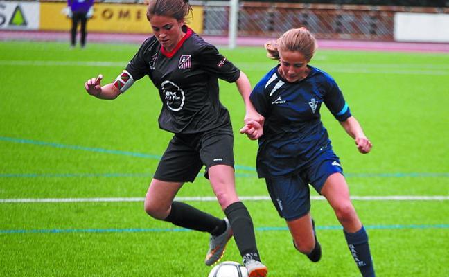 La competición liguera de fútbol vuelve a Mintxeta tras el paréntesis vacacional