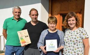 Tolosaldeko lehenengo Ecolabel saria jaso du Lete Nekazalturismoak
