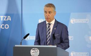 El lehendakari ofrece la ayuda de Euskadi a las comunidades afectadas por la «gota fría»