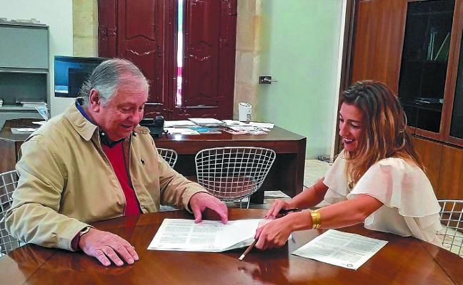 Prorrogada la cesión de uso público de los jardines del Palacio Lazarraga de Oñati