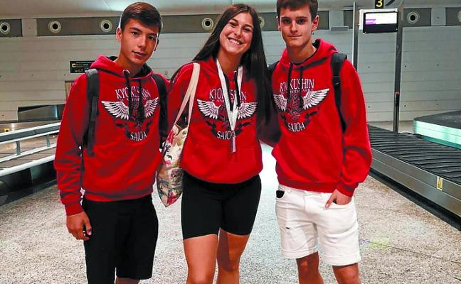 Plata para Ane García en la segunda jornada de la Liga Nacional de Karate