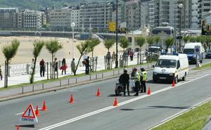 Aumentan los positivos por drogas detectados en conductores en Donostia