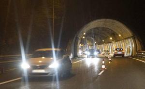 Gipuzkoa destinará 48,3 millones para actualizar los seis túneles restantes de la A-15