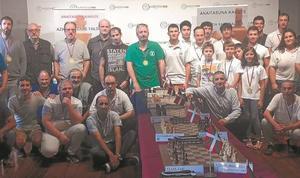 El ayuntamiento acoge el cuadragésimo aniversario del Anaitasuna Xake Taldea