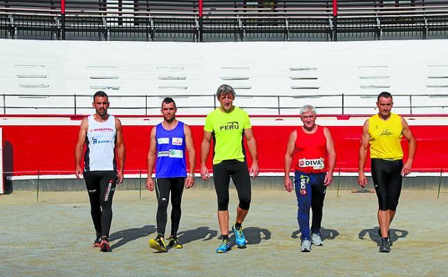 La final del Campeonato de Pentatlón vasco, en Azpeitia