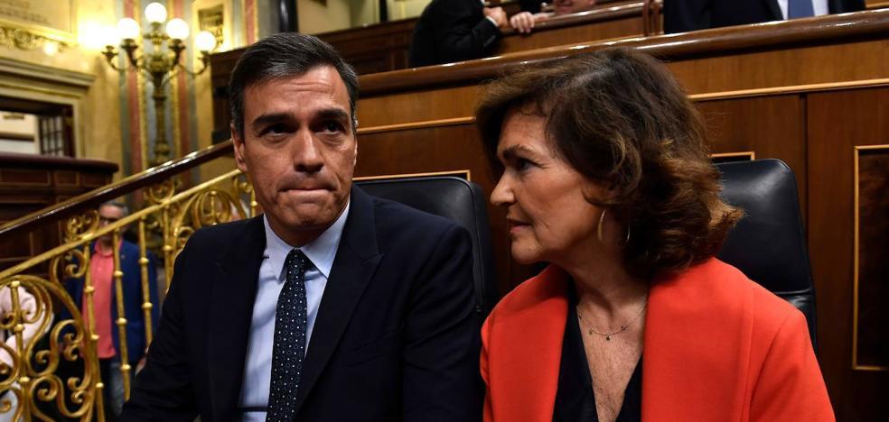 Calvo reconoce que hay compromisos con Euskadi que «se pueden agilizar»