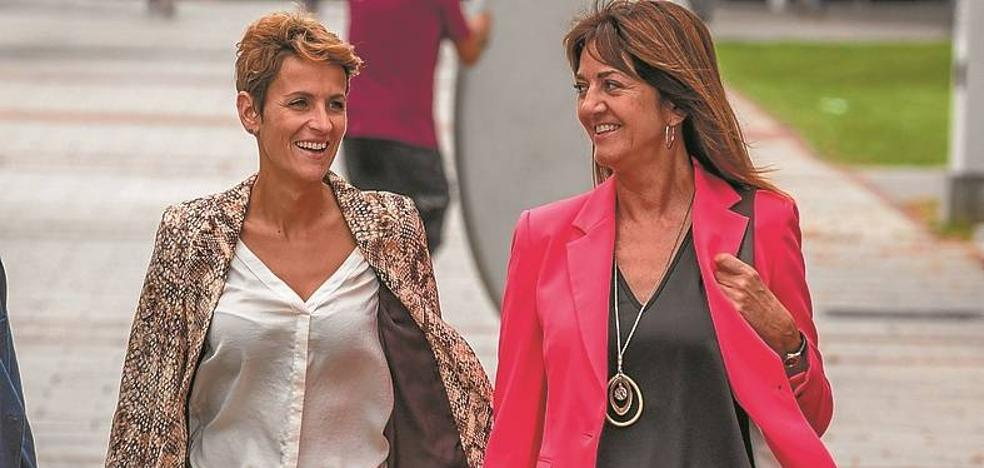 Mendia y Chivite defienden juntas la política del acuerdo «frente a la del insulto y la trinchera»