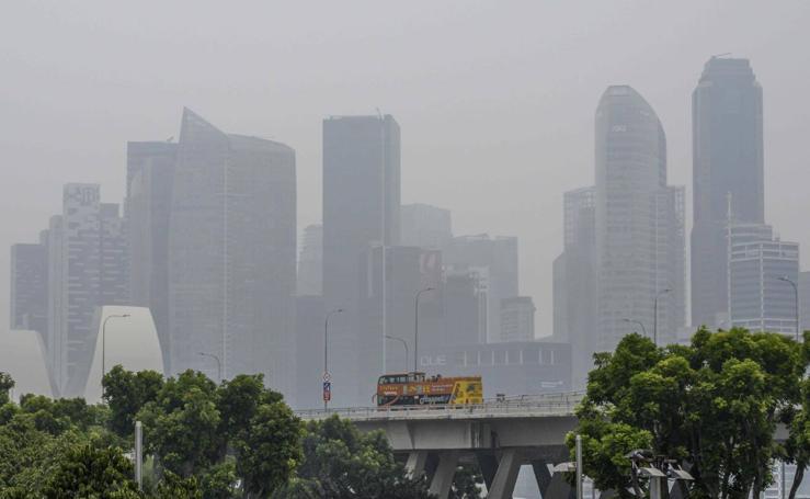 ¿Qué respiran en Singapur?