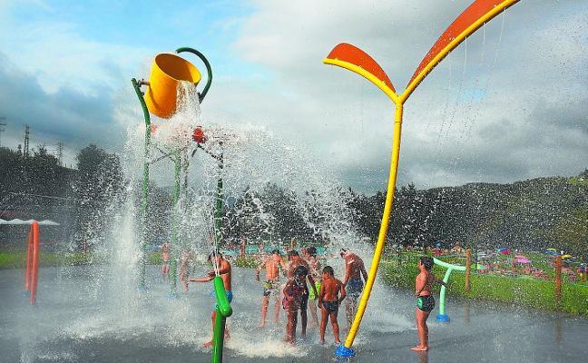 Las piscinas de Mintxeta acogieron a 43.000 bañistas