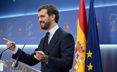 Casado hará un esfuerzo en Euskadi para recuperar los dos escaños perdidos en las pasadas elecciones