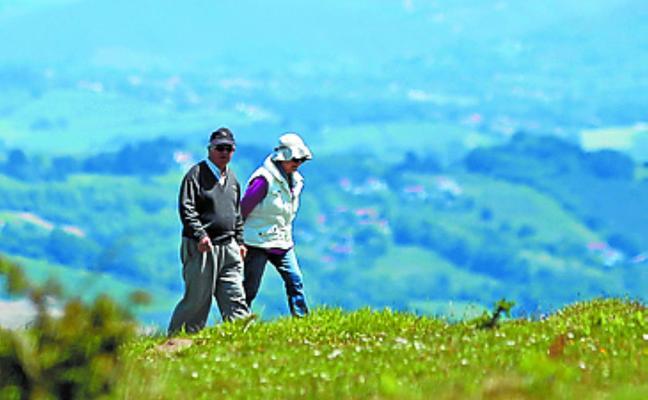 El miércoles comienzan las salidas del grupo de montaña de Aiton Borda