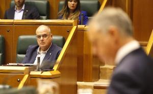 Egibar defiende que la situación en España muestra que Euskadi debe hacer «su propio camino»