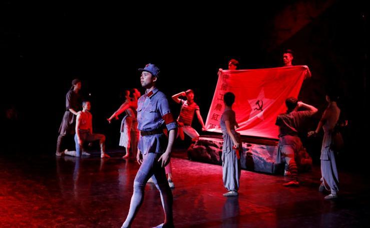 Ballet sobre los soldados de la Armada Roja