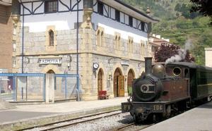 El Museo Vasco del Ferrocarril pone en circulación tres trenes de vapor este fin de semana