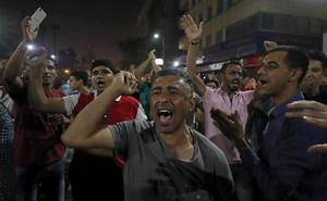 Multitudinarias protestas en Egipto para exigir la dimisión de Al Sisi