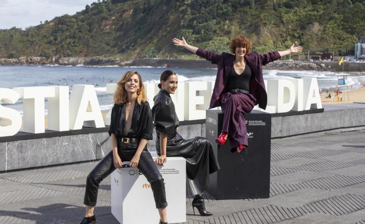 Leticia Dolera, Celia Frejeiro y Aixa Villagrán presentan 'Vida perfecta'