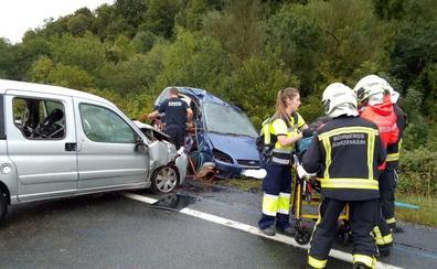 Fallece una mujer en un accidente de tráfico en Navarra