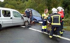 Fallece una bilbaína en un accidente de tráfico en Navarra