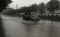 1959 | «Cinco minutitos» de descanso sin llover, «y a seguir diluviando»