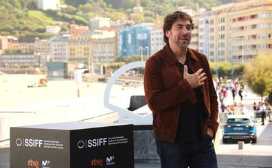 Javier Bardem: «Penélope está más que emocionada por el Premio Donostia»