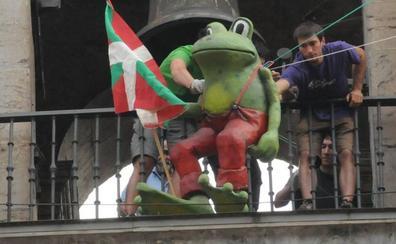Ranas, moscas, dragones, zorros... anuncian las fiestas en Gipuzkoa