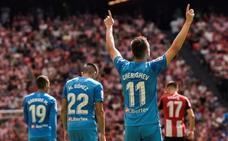 Un gol de Cheryshev le da los tres puntos al Valencia en San Mamés