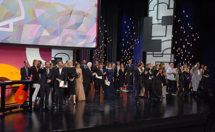 Clausura del 67 Festival de Cine de San Sebastián
