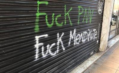 El PNV denuncia pintadas contra su portavoz en Eibar