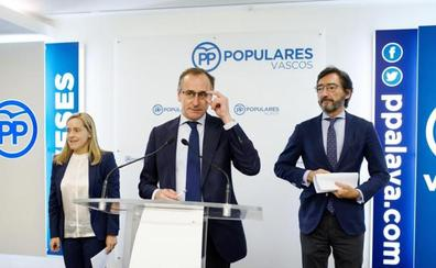 El PP vasco lanza su última oferta para sentarse a negociar los Presupuestos de Urkullu