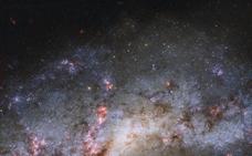 Gigantescos filamentos gaseosos nutren la formación de las galaxias