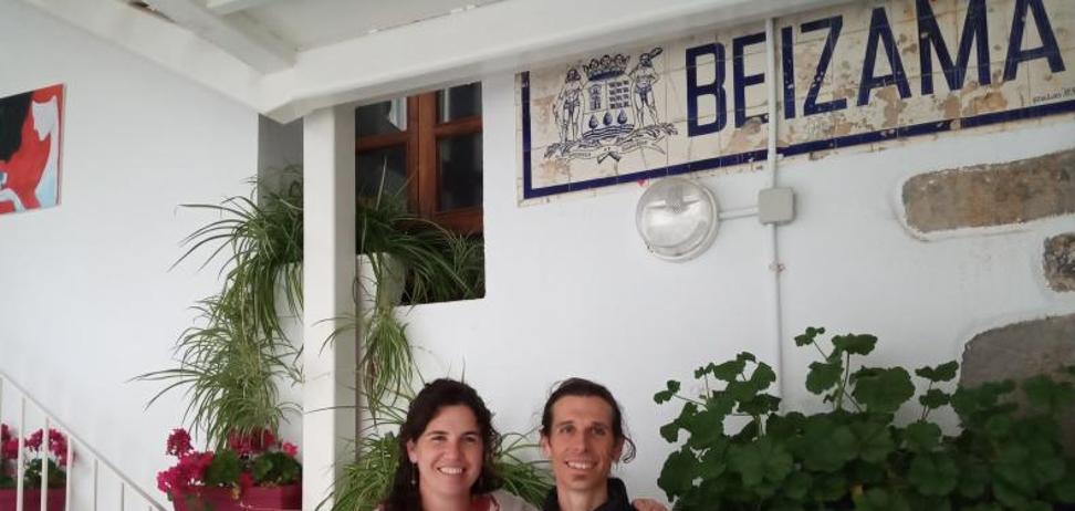 «No cambio por nada la gran calidad de vida y tranquilidad que tenemos en Beizama»
