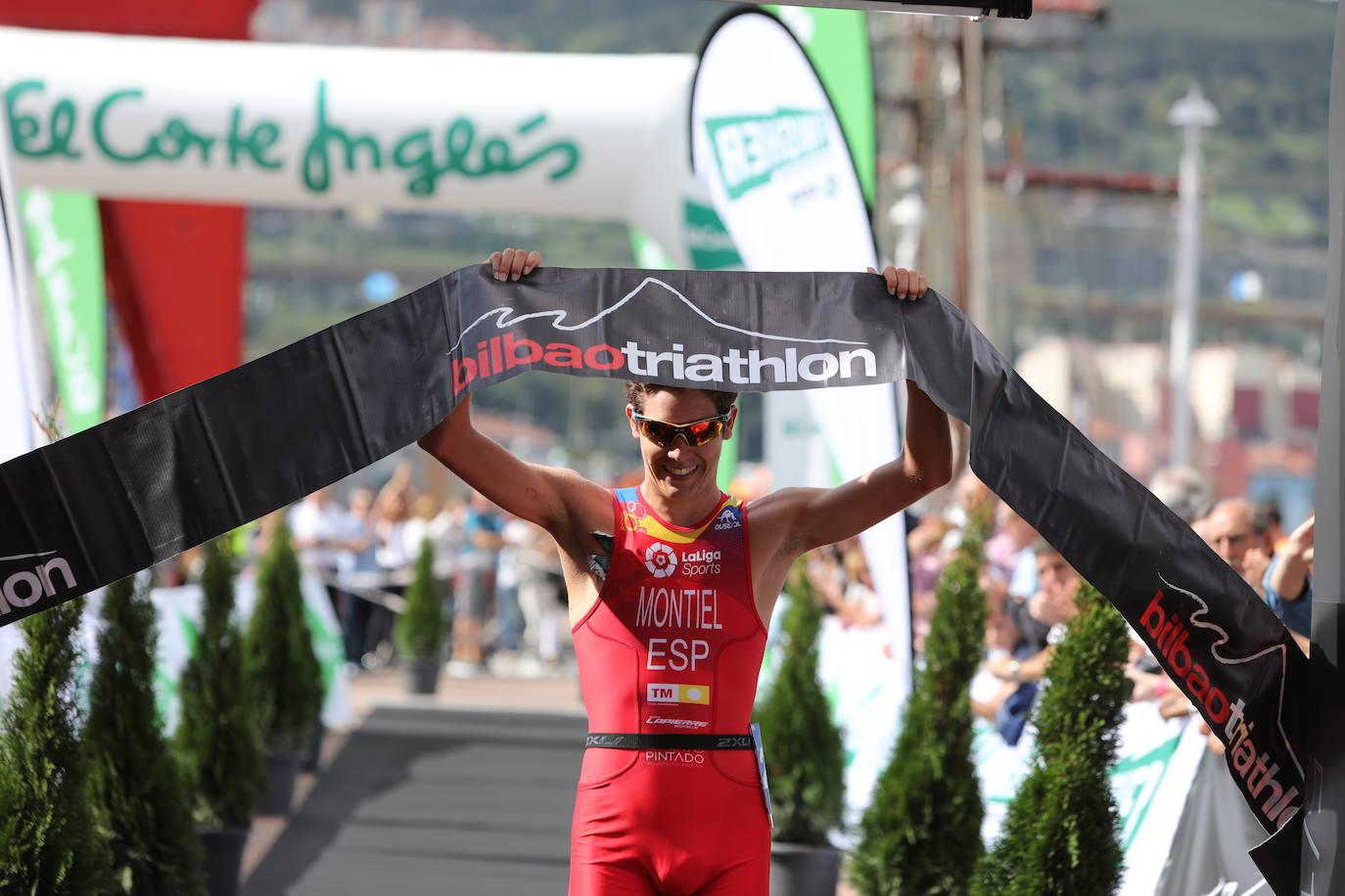 Las mejores imágenes del Bilbao Triatlón 2019