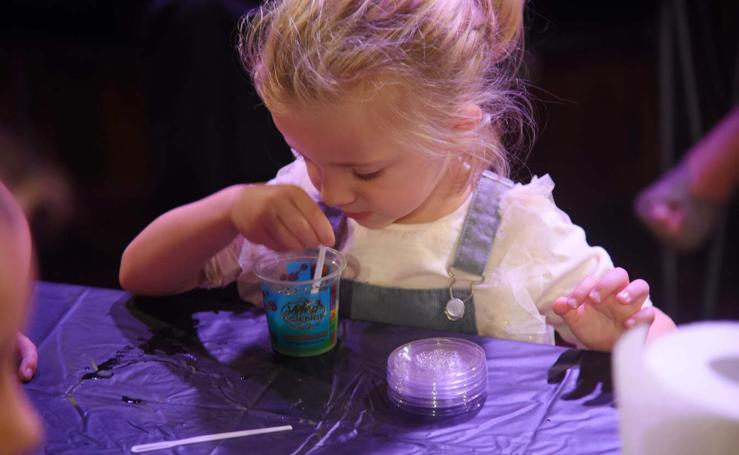 La ciencia, desde pequeños