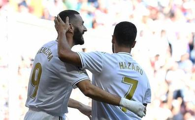 El Madrid vuelve a mostrar dos caras