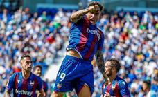Aitor, estrella en la victoria del Levante en Leganés