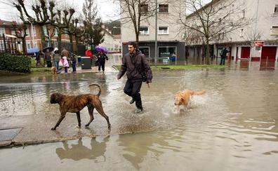 Casi 6.000 guipuzcoanos sufrirán al menos una inundación en los próximos diez años