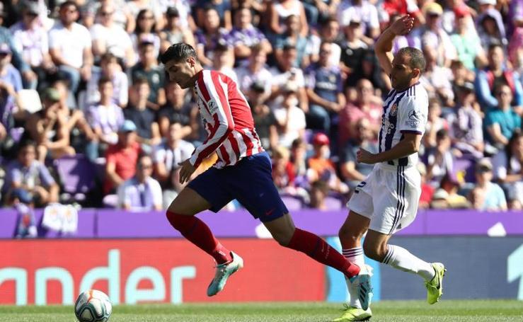 Las mejores imágenes del Valladolid-Atlético de Madrid