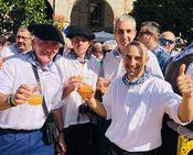 Oñati celebra sus fiestas Los «Errosaixuak»