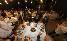 Cena inaugural en el museo Balenciaga