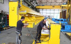 La actividad industrial de Euskadi subió en agosto un 3,3%, pero en Gipuzkoa bajó un 1,5%