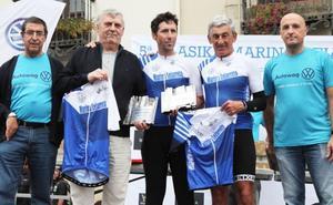 Éxito de la Klasika Marino Lejarreta con 470 ciclistas y 94 equipos