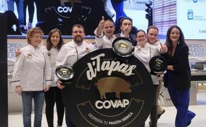Alfredo Dueñas se lleva la cuarta edición del concurso de tapas de Covap