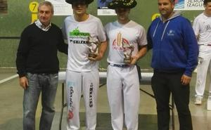Segunda txapela para el pelotari Markel Lizeaga en el Torneo de Aginaga