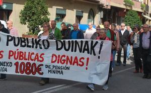 Los jubilados de la comarca vuelven a las calles «por unas pensiones dignas»