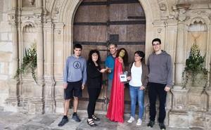 El San Miguel volador de Angiozar llegó este año hasta Lizartza
