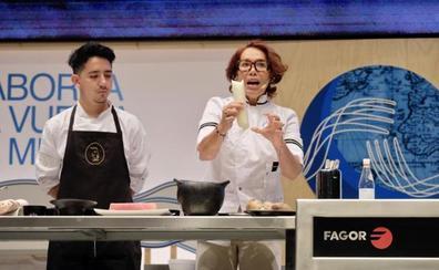Leonor Espinosa descubre en San Sebastian Gastronomika los ingredientes ocultos de Colombia